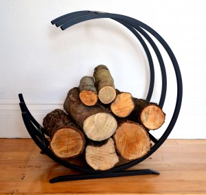 Cronin's Forge Fire Log Holder