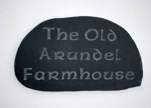 House Sign: The Old Arundel Farmhouse