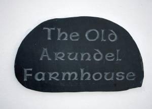 House Sign: The Old Arundel Farmhouse