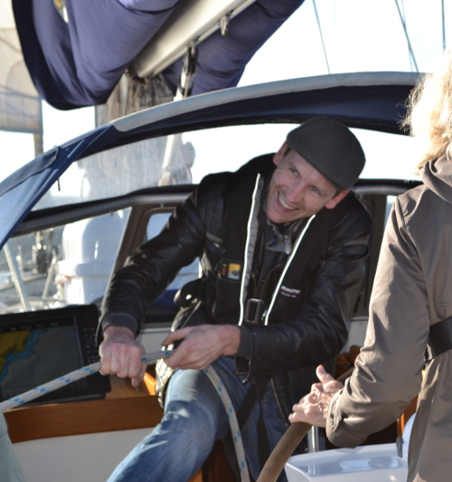 Learning the Ropes on Carbery Sailing's yacht Merlin