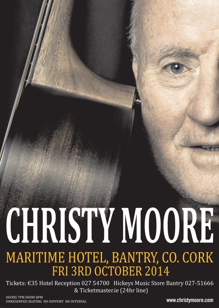 Christy Moore - Live @ Maritime Hotel | Bantry | Cork | Ireland