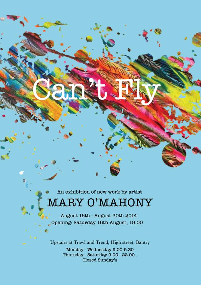 Can't Fly - Art Exhibition @ Trawl & Trend | Bantry | Cork | Ireland