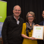 Sheep's Head award presentation at the Irish Responsible Tourism Awards