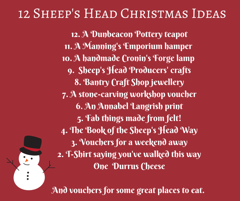 in a bid to help you put a bit of sheeps head cheer into your christmas weve compiled a list of ideas for christmas gifts with a sheeps head twist