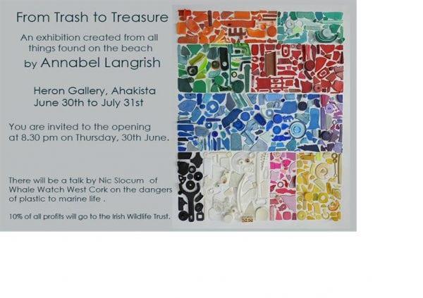 From Trash to Treasure [Art Exhibition] @ Heron Gallery | Ahakista | Cork | Ireland