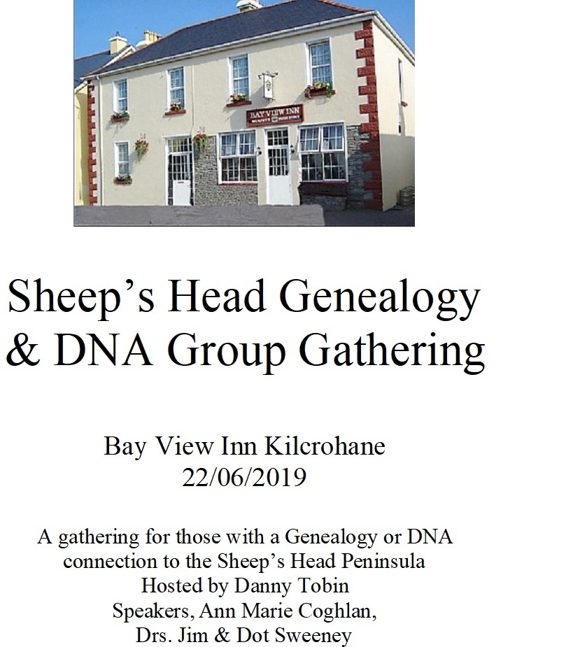 Sheep's Head geneaology weekend