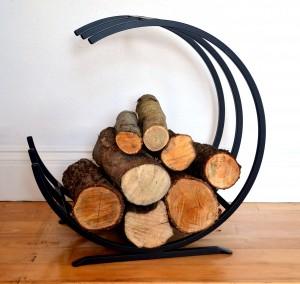 Cronin's Forge Fire Log Holder