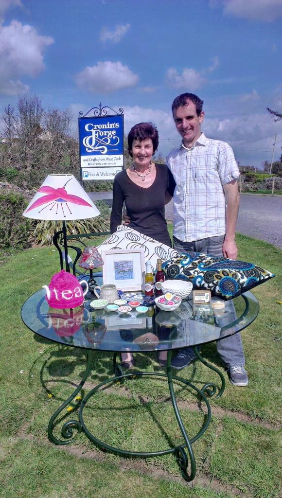 Carmel and Brian Cronin Cronin's Forge Crafts