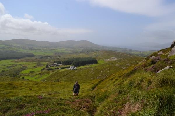 Mount Corrin Loop Walk Sheep's Head Way near Durrus