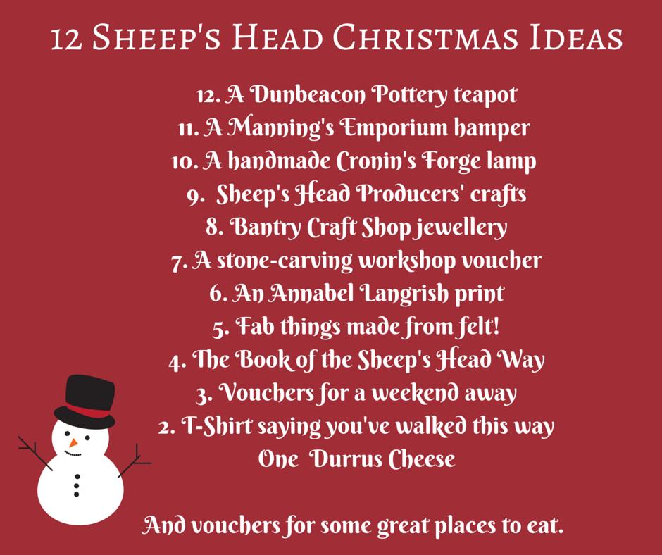 Sheep's Head Christmas Ideas